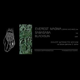 Everest Magma LIVE + SabaSaba LIVE + BlackSun DJSET @Progetto Mayhem   30/04/17   PAYNOMINDTOUS.IT 3