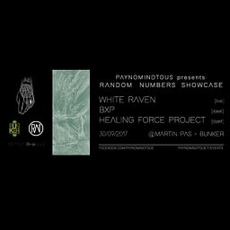Random Numbers Showcase @Martin Pas Synth Shop & Bunker   30/09/17   PAYNOMINDTOUS.IT 2