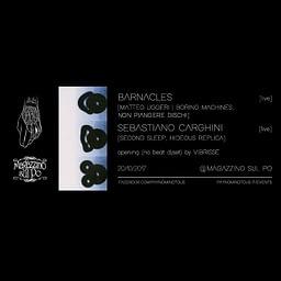 Barnacles [Matteo Uggeri] + Sebastiano Carghini @Magazzino Sul Po   20/10/17   PAYNOMINDTOUS.IT 3