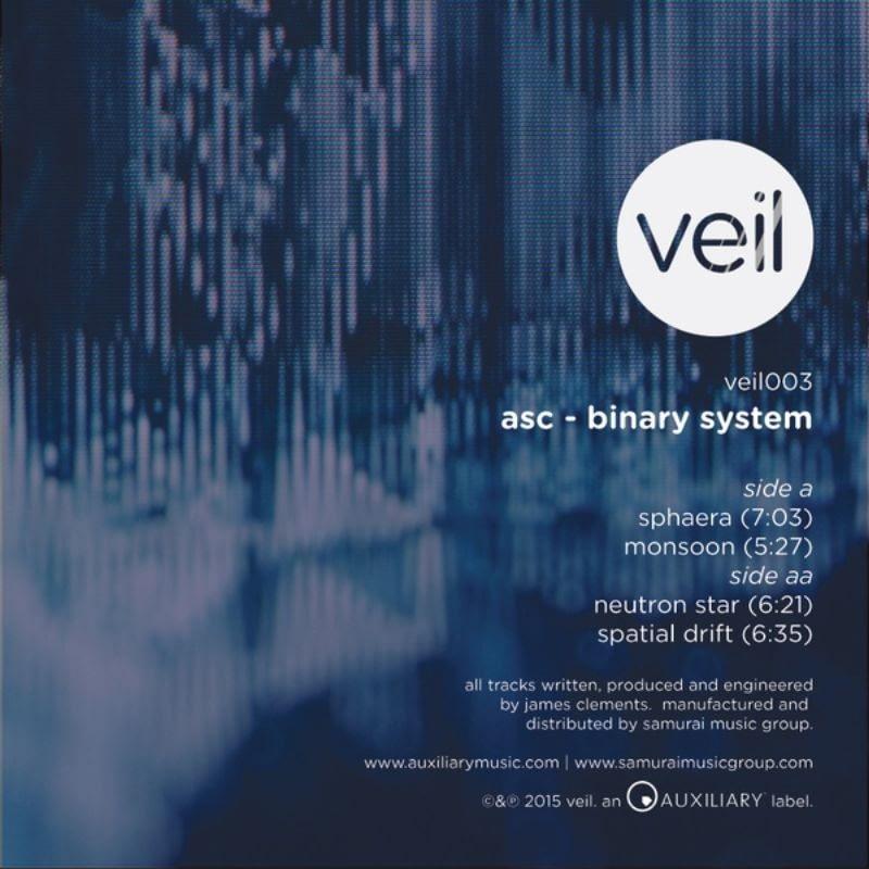ASC - Binary System [Veil, VEIL003, 2015] | PAYNOMINDTOUS.IT 1