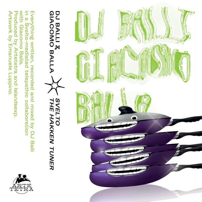 Album premiere: DJ Balli & Giacomo Balla - SVELTO, The Hakken Tuner [Artetetra]   PAYNOMINDTOUS.IT 3